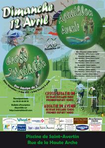 Affiche aquathlonWeb