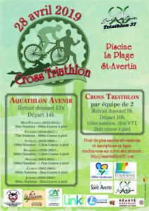 Cross-triathlon et Aquathlon @ Piscine de Saint Avertin
