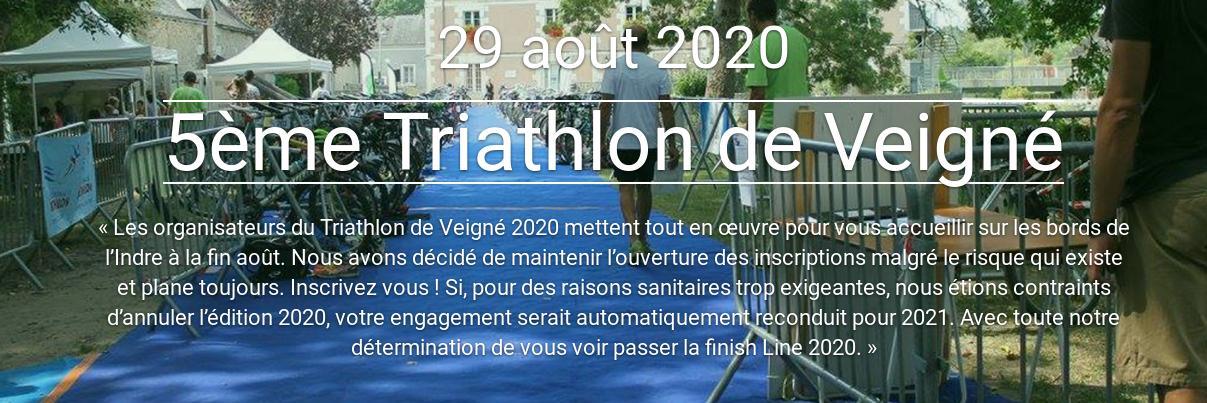 TRIATHLON VEIGNE 2020