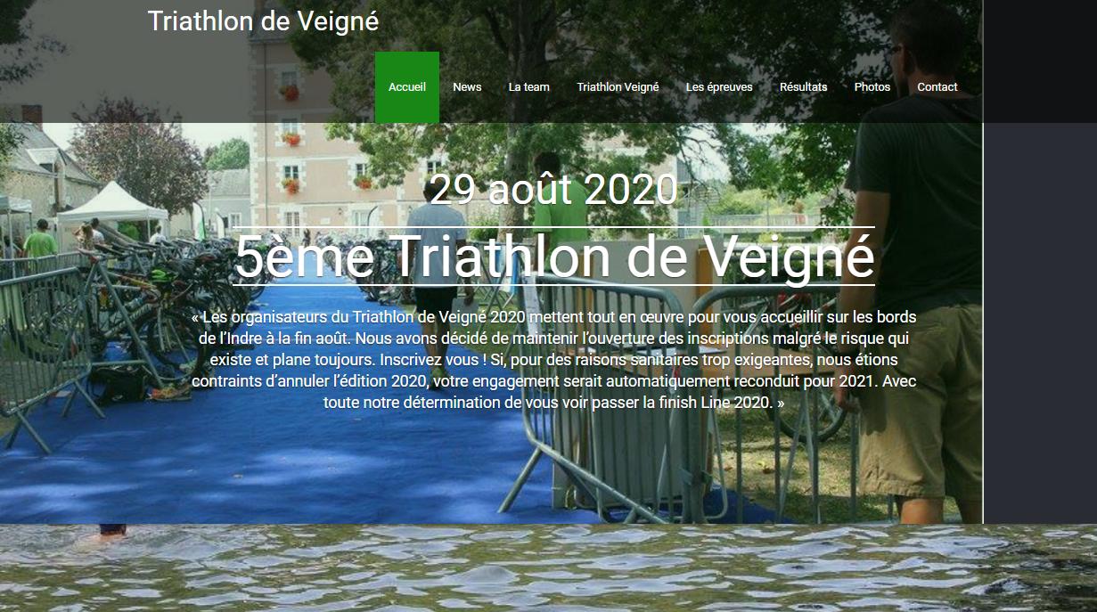Triathlon de Veigné